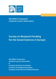 full report - European University Institute