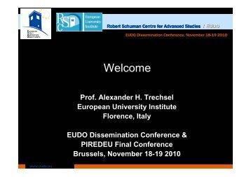 presentation - European University Institute