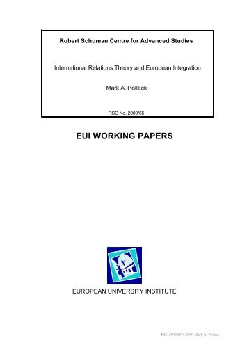 theories of european integration essay On this page you can learn about writing an integration paper, check some tips in writing an integration paper.