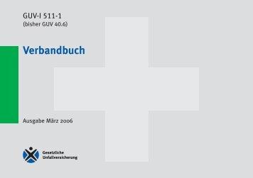 Kleines Verbandbuch (kartoniert)