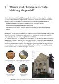 Chemikalienschutzkleidung bei der Sanierung von Altlasten ... - Seite 6