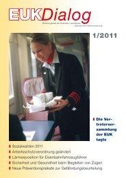 Die Ver- treterver- sammlung der EUK tagte Sozialwahlen 2011 ...