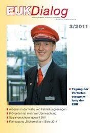 EUK-Dialog 03-2011 - Eisenbahn-Unfallkasse