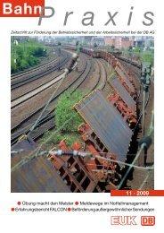 11 · 2009 - Eisenbahn-Unfallkasse