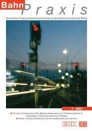 7 · 2007 - Eisenbahn-Unfallkasse