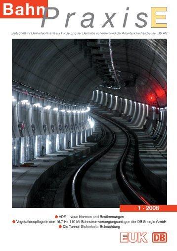 1 · 2008 - Eisenbahn-Unfallkasse