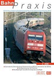 BahnPraxis Spezial - Eisenbahn-Unfallkasse