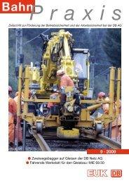 9 · 2009 - Eisenbahn-Unfallkasse