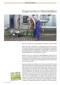 Ergonomie am Arbeitsplatz - Eisenbahn-Unfallkasse - Page 3