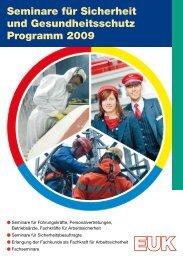 Seminare für Sicherheits - Eisenbahn-Unfallkasse