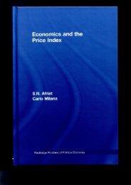 Economics and the Price Index
