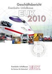Geschäftsbericht - Eisenbahn-Unfallkasse