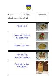 Kaviar-Taler - EULACH-CHUCHI Winterthur