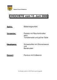Blätterteigkonfekt - EULACH-CHUCHI Winterthur
