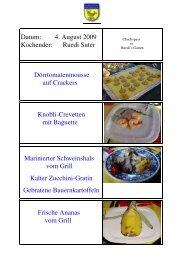 Choch-Spass in Ruedis Garten - EULACH-CHUCHI Winterthur