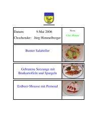 Bunter Salatteller - EULACH-CHUCHI Winterthur