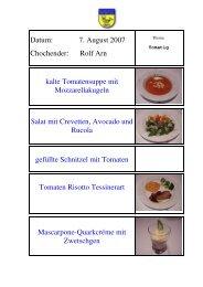 Salat mit Crevetten, Avocado und Rucola - EULACH-CHUCHI ...