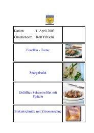 Rolf Fritschi im April - EULACH-CHUCHI Winterthur