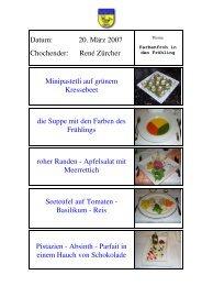 Mini-Pastetli auf Kressebeet - EULACH-CHUCHI Winterthur