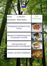 Champignons und Speck in der Tasche vom Grill - EULACH ...
