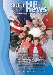 Newsletter 1/2013 - EULAR