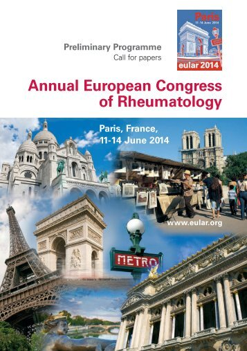 Download the Preliminary Programme (PDF) - EULAR