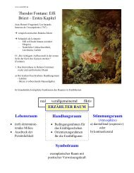 Theodor Fontane: Effi Briest – Erstes Kapitel ... - eule2003
