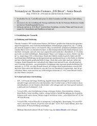 "Textanalyse zu Theodor Fontanes ""Effi Briest"": Annis ... - eule2003"