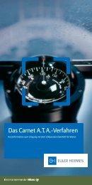 Das Carnet A.T. A.-Verfahren - Euler Hermes Kreditversicherungs-AG