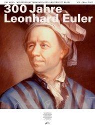 Uni Nova 105 - 300 Jahre Leonhard Euler - Universität Basel