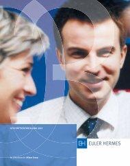 geschäftsentwicklung 2003 - Euler Hermes Kreditversicherungs-AG