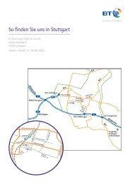 So finden Sie uns in Stuttgart - EUMA Germany