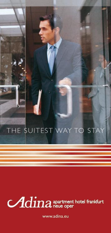 ThE SuiTEST Way To STay - EUMA Germany