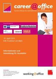 Flyer cato FFM Aussteller 2011-04-19.indb - EUMA Germany