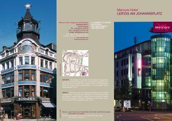 Mercure Hotel LEIPZIG AM JOHANNISPLATZ - EUMA Germany