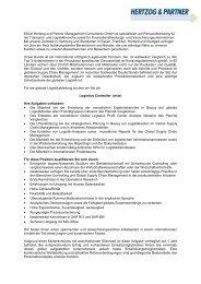 Elmar Hertzog und Partner Management Consultants GmbH ... - eUni