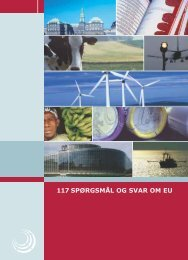 117 SPØRGSMÅL OG SVAR OM EU - Folketingets EU-oplysning
