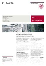Europa-Kommissionen - Folketingets EU-oplysning