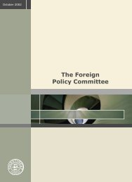 The Foreign Policy Committee - Folketingets EU-oplysning