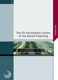 The EU Information Centre of the Danish Folketing - Folketingets EU ...