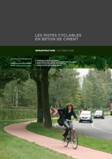 les pistes cyclables en béton de ciment - EUPAVE