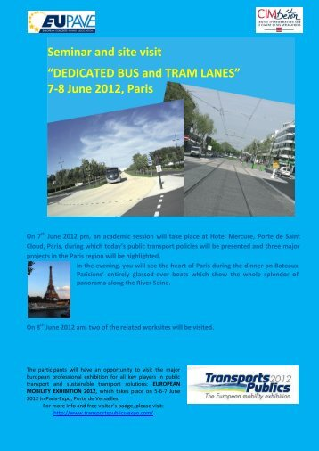 7-8 June 2012, Paris - EUPAVE