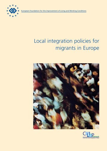 Local integration policies for migrants in Europe - Eurofound - Europa
