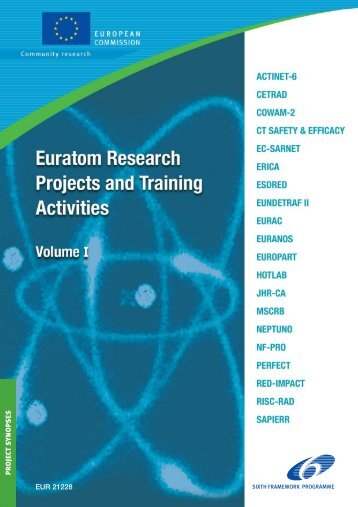 Euratom Research Projects and Training Activities - GPPQ