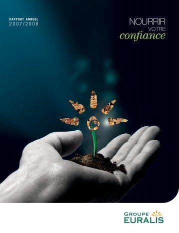 Rapport annuel 2007/2008 RAPPORT ANNUEL - Euralis