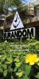Executive Summary of the Annual Report 2006 ... - Eurandom
