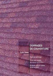 Ouvrages de couverture, tuiles plates - Ministère de la Culture et de ...
