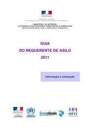 guia do requerente de asilo - Ministère de l'Intérieur