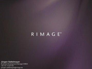 Rimage Präsentation