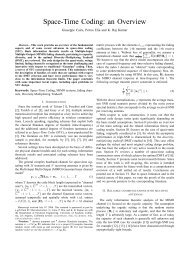 Space-Time Coding: an Overview - ResearchGate